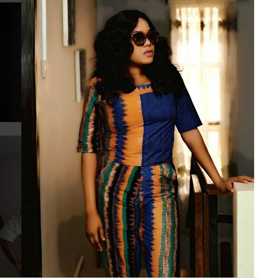 Toyin Abraham Sexy and Beautiful In Tie And Dye