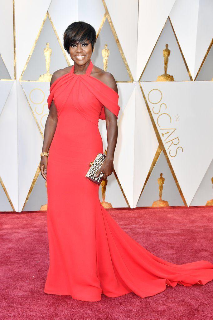 Viola Davis at the Oscars Awards 2017