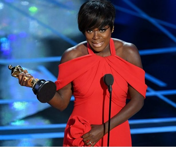 Viola Davis makes history with her first Oscar win, as she Becomes the First Black woman to Win EGOT