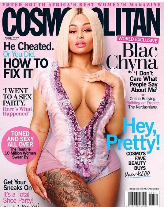 Blac Chyna Slays for Cosmopolitan SA Magazine April Issue