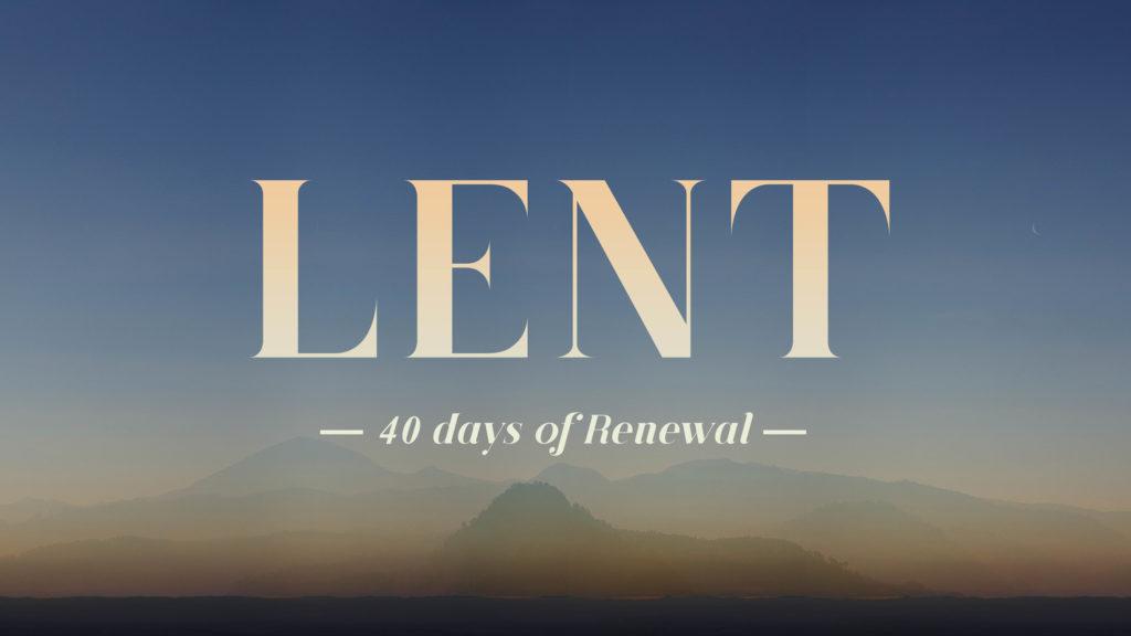 Top 5 ideas for Lent 2017