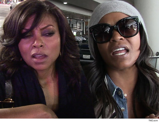 Taraji P. Henson And Nia Long Engaged In a Feud On Set of Empire TV Series