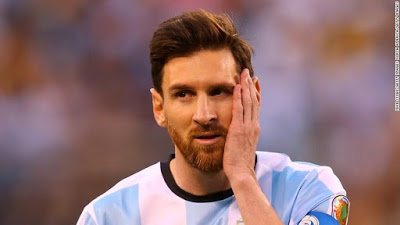 Barcelona Star Man Lionel Messi Bags 4 match ban and fined $10,200 for insulting referee