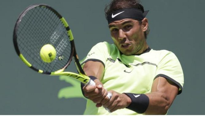 Nadal Defeats Fognini To Reach Fifth Final 6-1, 7-5 reach the Miami Open final