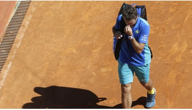 World No. 1 Andy Murray,  and World No. 3 Stan Wawrinka Knocked Out Of Monte Carlo