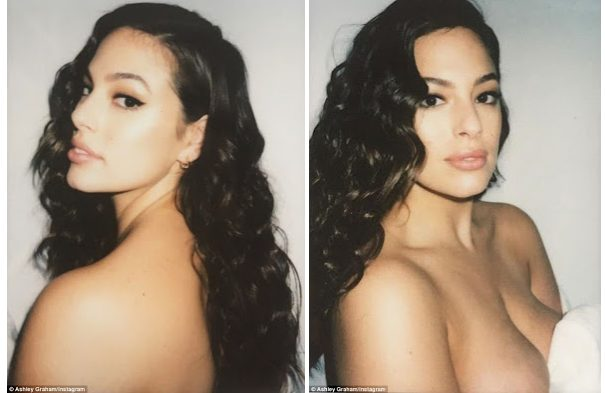 Ashley Graham gets raunchy in a Series Of Naked Photos Online