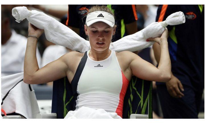Caroline Wozniacki  injured and Retires from Strasbourg, while Caroline Garcia Advances