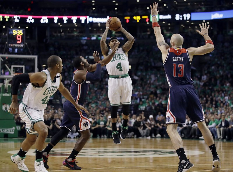 Boston Celtics power past Wizards in Game 7, 115-105 to make Eastern Conference Final