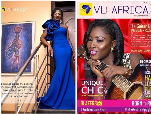 Debie-rise Covers VL Africa Magazine May Edition