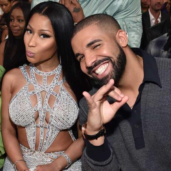 Drake and Nicki Minaj all Loved Up at the Billboard Music Awards