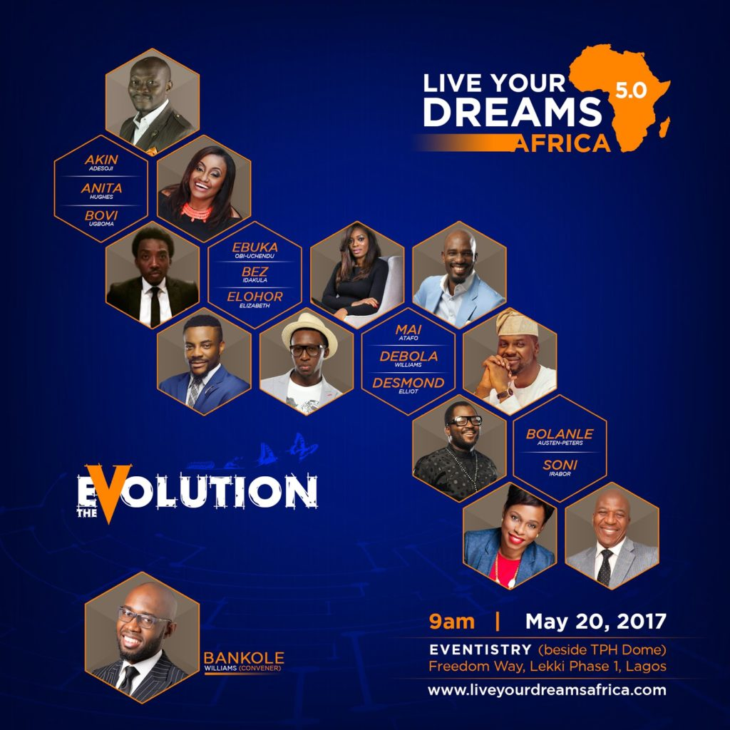 LIVE YOUR DREAMS AFRICA 5.0