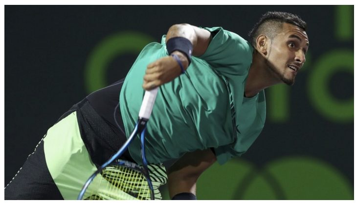 Nick Kyrgios has withdrawn from the Italian Open with a hip injury