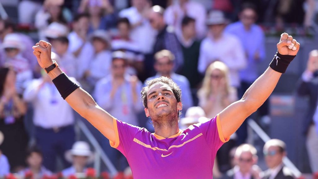 Nadal edges out Thiem for fifth Madrid Masters