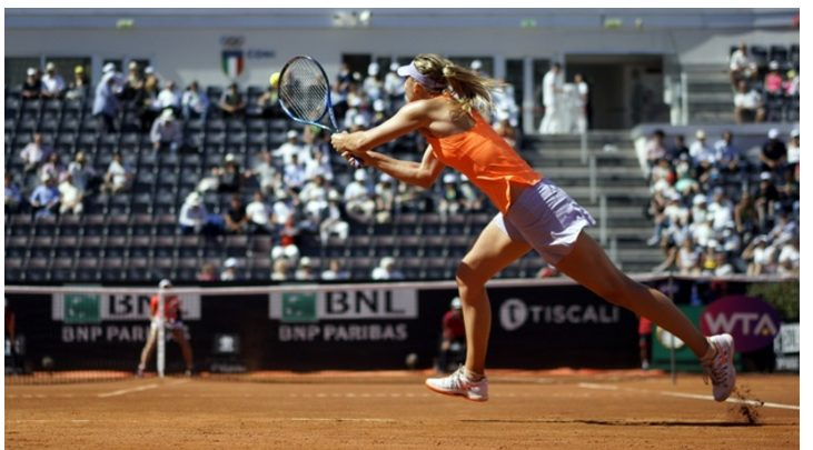 Maria Sharapova Overcomes Shaky Start To Beat Christina Mchale 6-4, 6-2 In Rome
