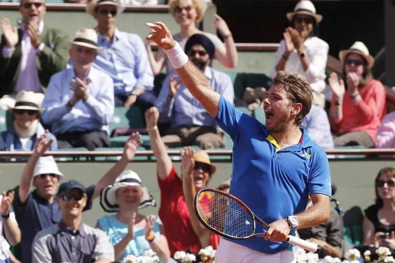 2015 champion Stan Wawrinka edges World No.1 Andy Murray 6-7(6) 6-3 5-7 7-6(3) 6-1 to reach French Open Final