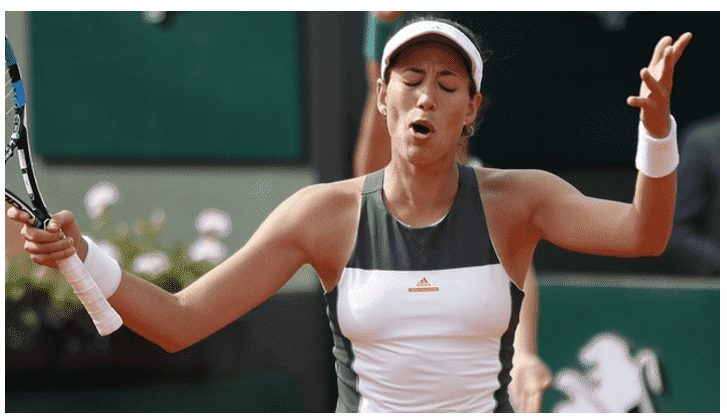 2016 French Open Champion, Garbine Muguruza Defeated 6-1, 3-6, 6-3 by Kristina Mladenovic