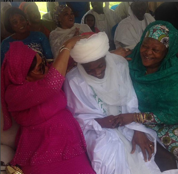 Ahmed Musa earns a New Chieftaincy Title 'Jagaban' After Marrying Another Wife