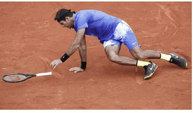 Del Potro Withdraws From Queen's Club, as he still recovering from his groin  injury