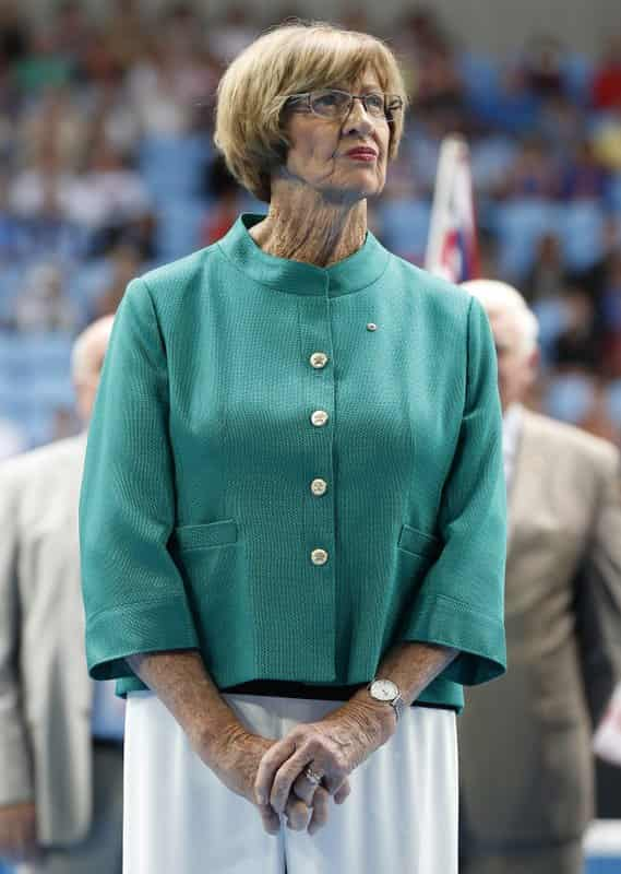 Margaret Court  Stands by her opposition to gay marriage
