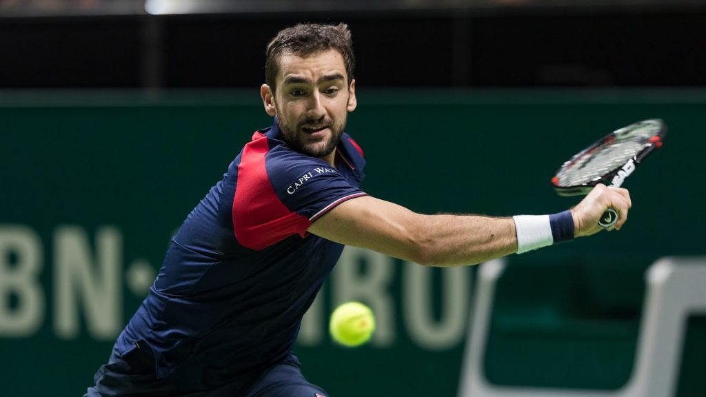 Marin Cilic  Clinical as he ended Gilles Muller's Seven Match Unbeaten,wins 6-3, 5-7, 6-4 to reach final at Queen