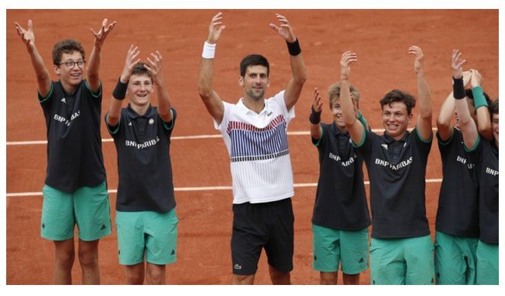 Novak Djokovic outlasted 41st-ranked Diego Schwartzman, 5-7, 6-3, 3-6, 6-1, 6-1