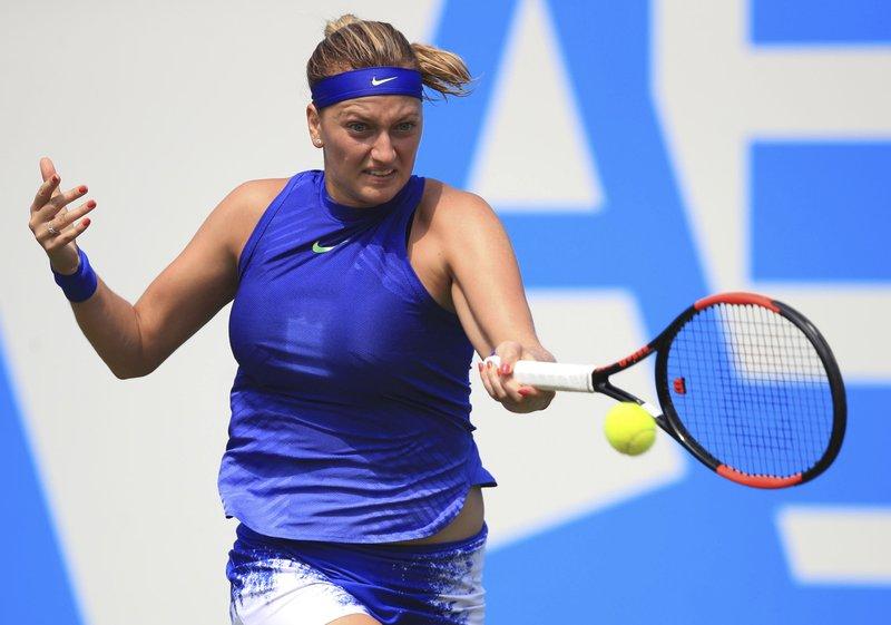 Petra Kvitova  Cruise Past Naomi Broady, winning 6-2, 6-2  to reach quarterfinals of the Aegon Classic