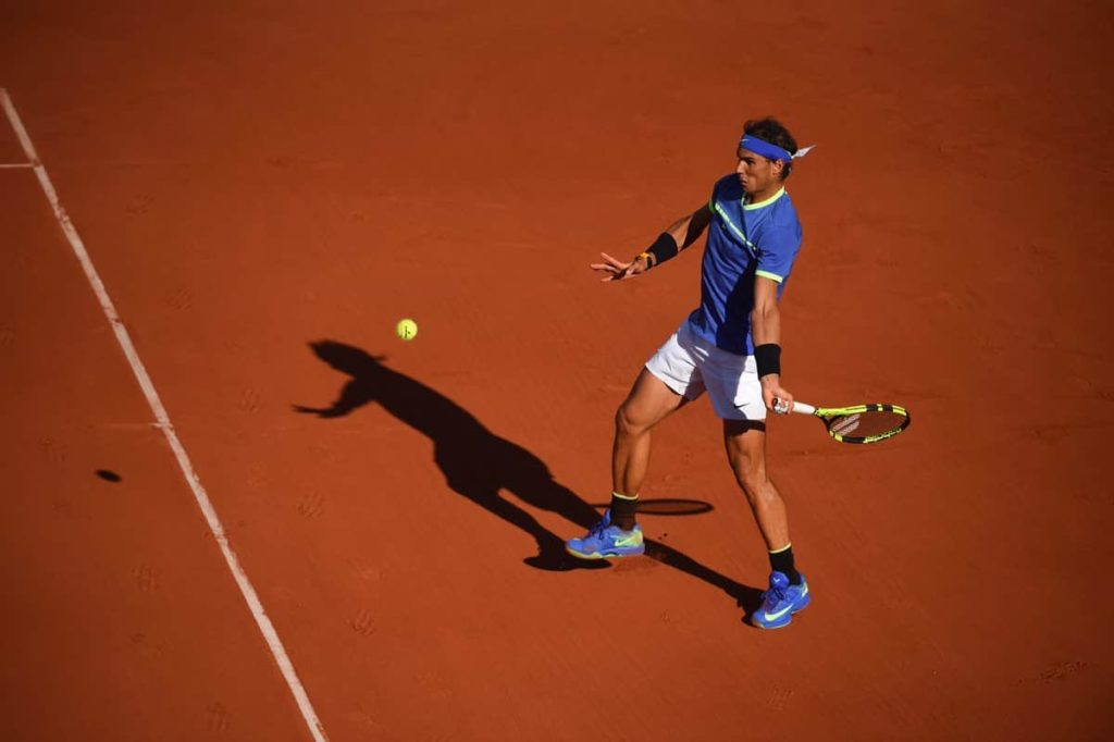 king of Clay RafaelNadal powers through to his 10th Roland-Garros final after impressive 6-3 6-4 6-0 win over Thiem