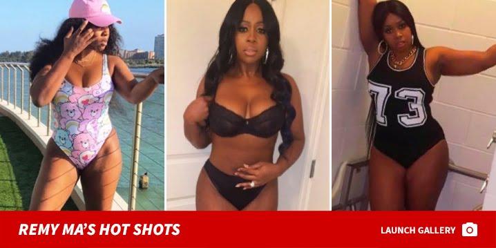 Remy Ma Suffers Nip Slip At Summer Jam, Shades Nicki Minaj