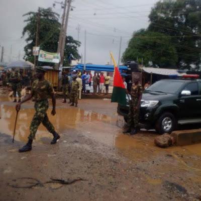 Soldiers in Ikorodu engage in community service