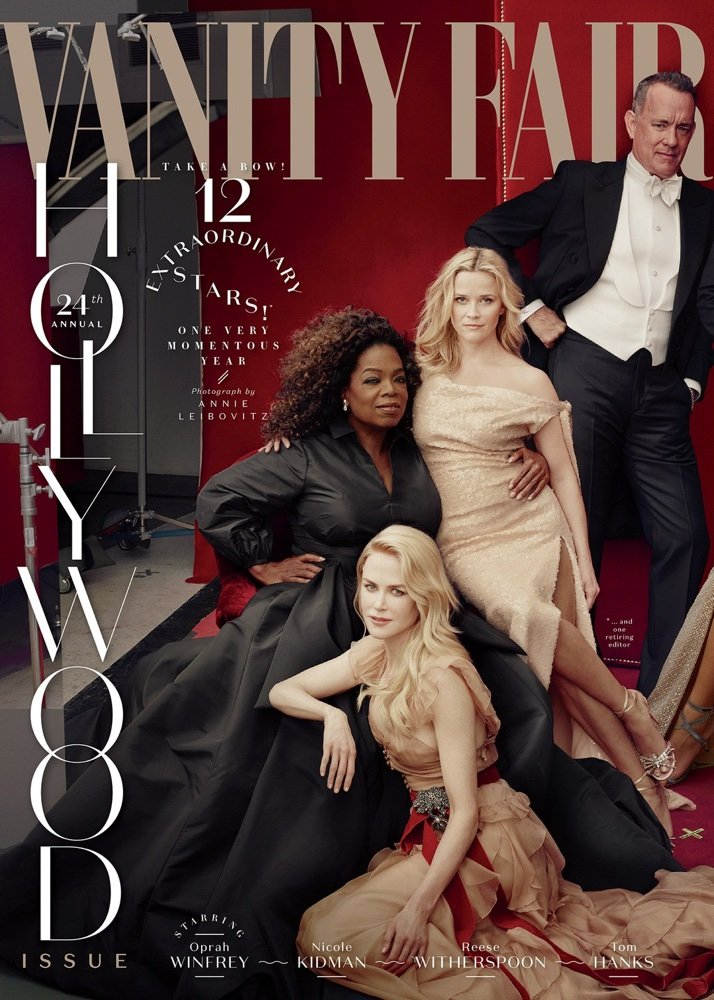vanity fair hollywood issue 2018 HWD cover panel coverlines 2018 13 BellaNaija Style