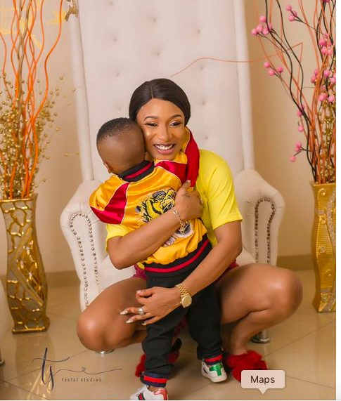 I will give you the whole world and more – Tonto Dikeh