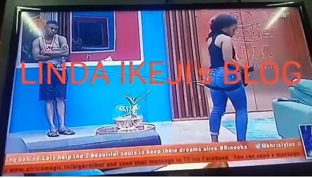 #BBNaija: Cee-C almost injured Lolu's p!nis with their bonding string (Video)