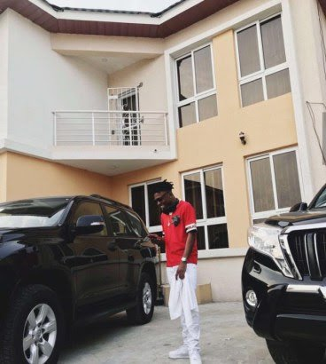 Mayorkun Acquires His First House in Lekki
