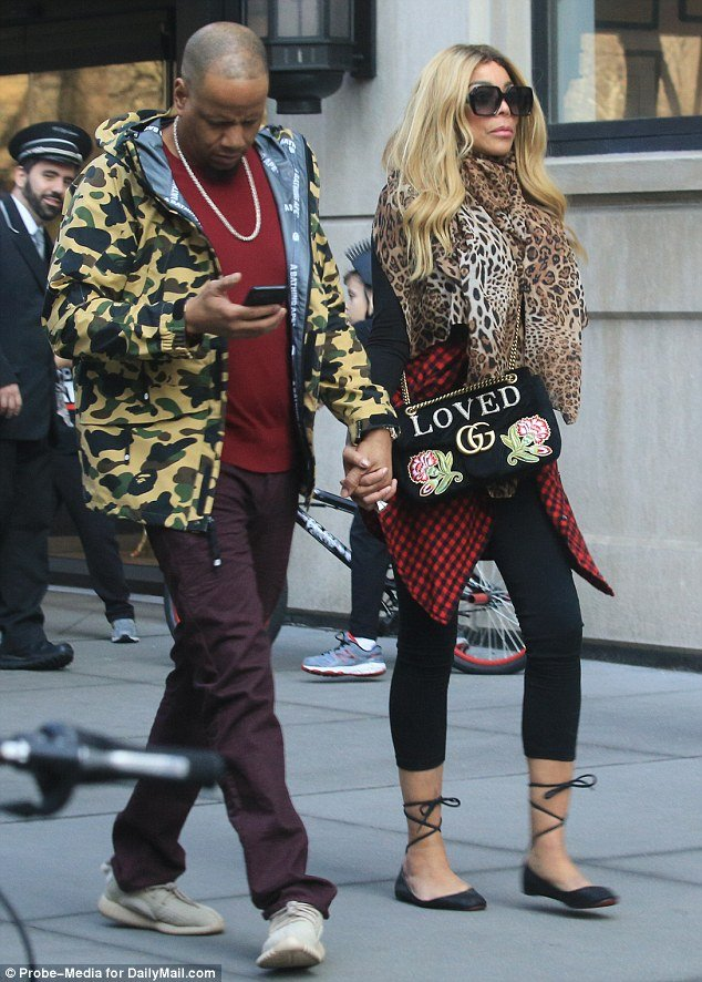 Wendy Williams and husband ' step out in style to see her Doctor