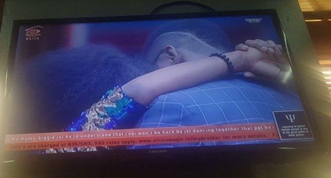 #BBNaija Tobi passionate kiss Cee -C ,apologizes to her