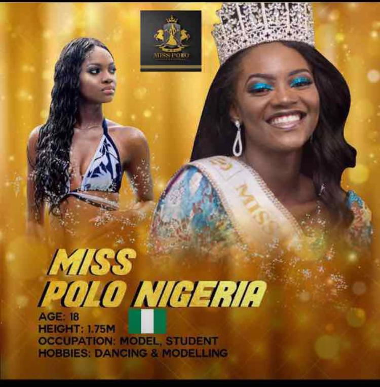 The winner of Miss Polo Nigeria denied of her place