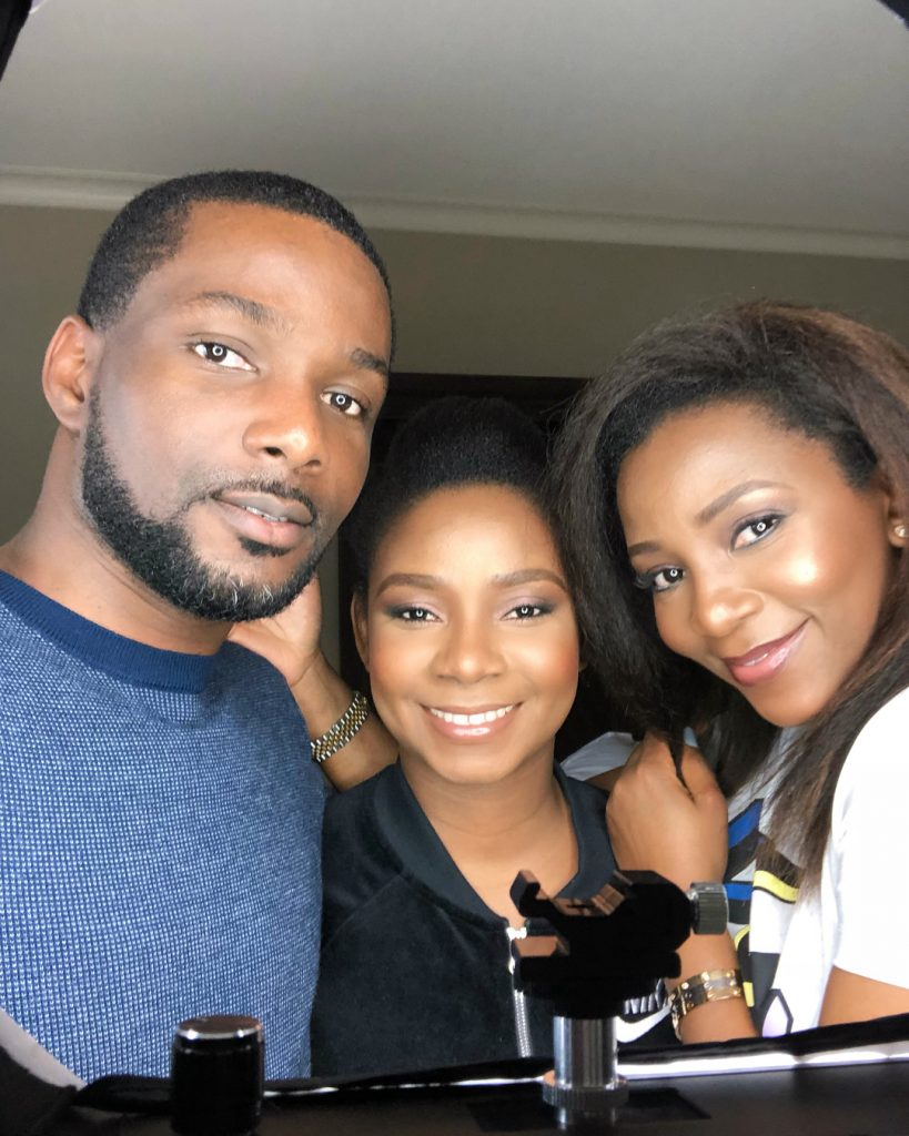Photos of Genevieve Nnaji and siblings will make your day