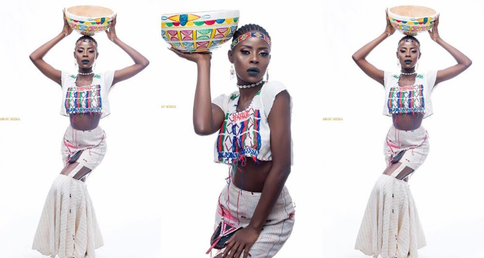Khloe Sizzles  In Hausa Traditional Attire Photoshoot