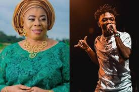 Mayorkun's Mum Warns - Get Married Before Having Babies, Dont be like your boss .