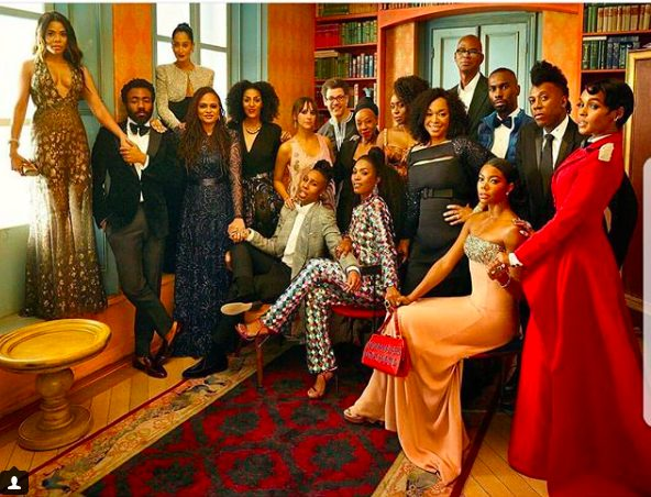 Black Excellence as Chiamanda Adichie, Gabrielle Union, Angela Basset and other top Hollywood stars pictured together
