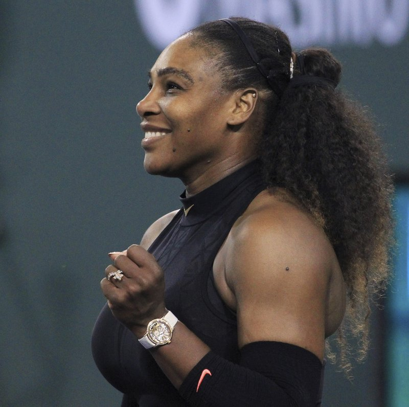 Serena Williams is Back with 7-5, 6-3 win over Zarina Diyas  at Indian Wells