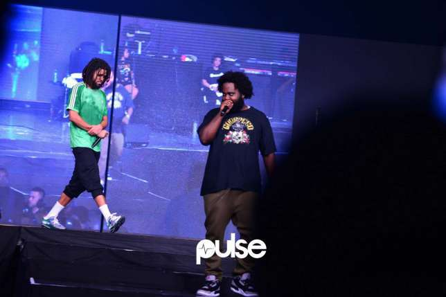 J Cole Thrills Nigerian Fans with an electrifying performance at the 'Castle Night Unlocks' concert (Photos+Video)
