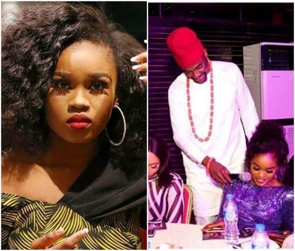 Cee-C reacts to viral photo of her and Ebuka at a pageantry