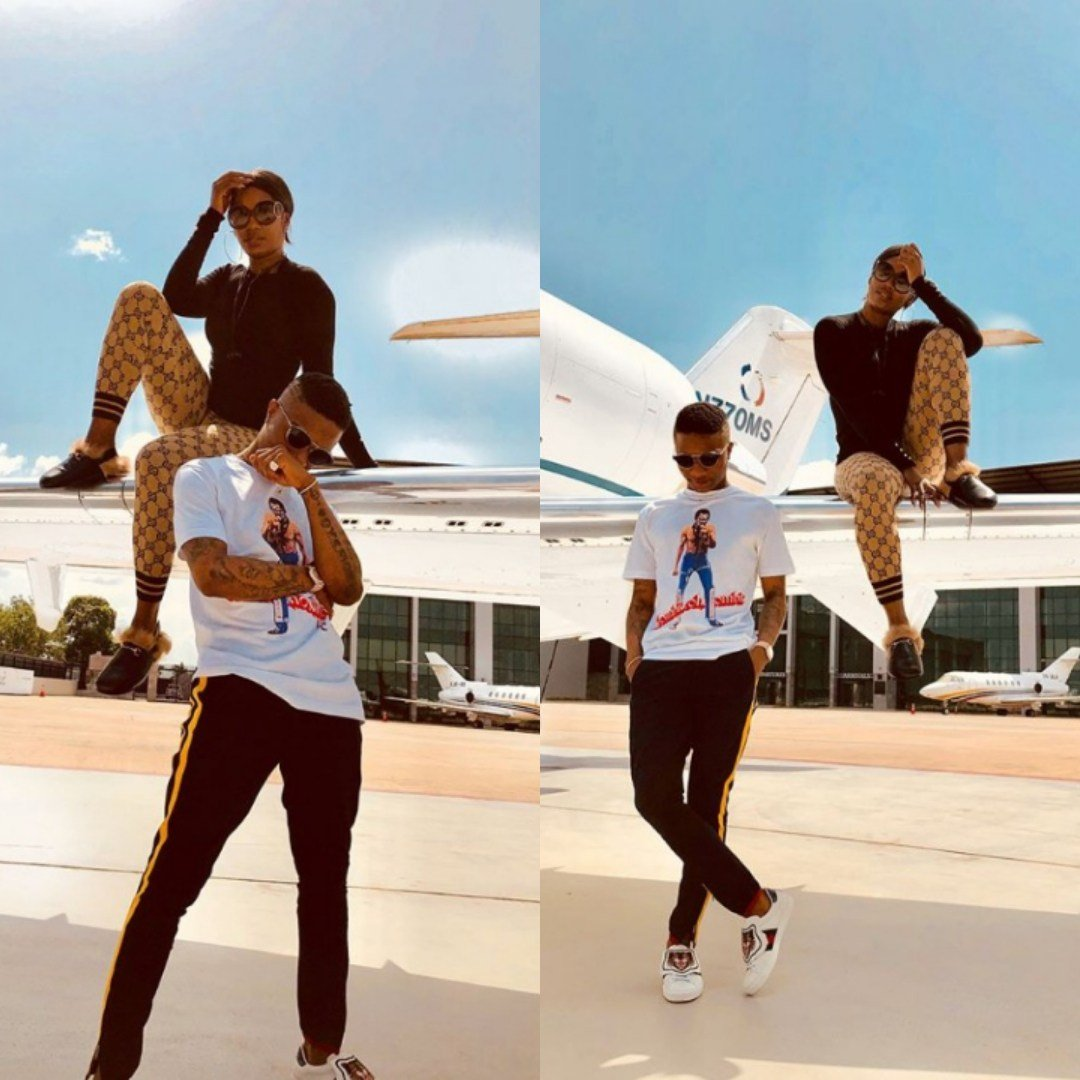 Dating? Wizkid and Tiwa Savage Serve Couple Goals in New Photoshoot