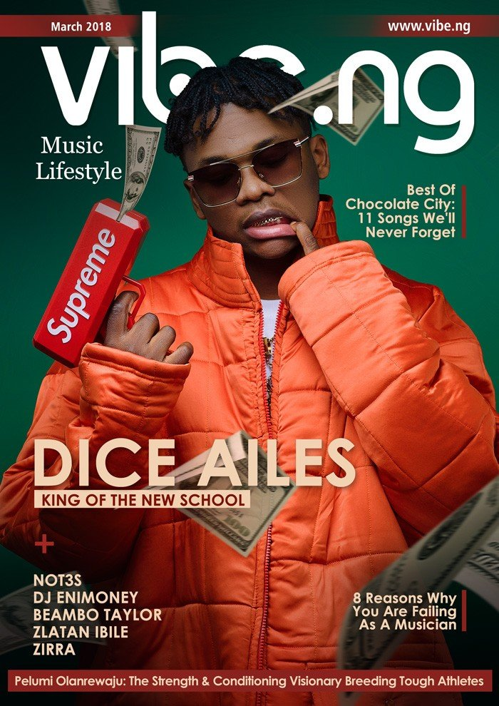 Dices Alies covers latest edition of Vibe.ng