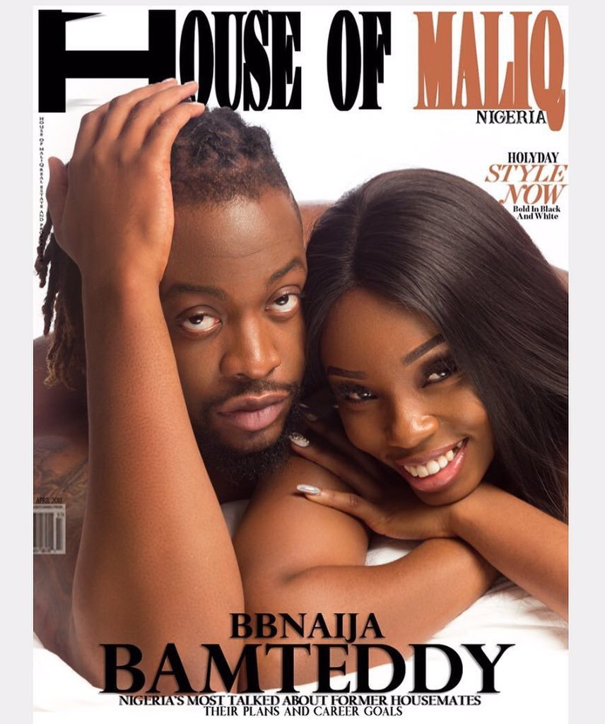 Teddy A and Bambam cover House of Maliq magazine