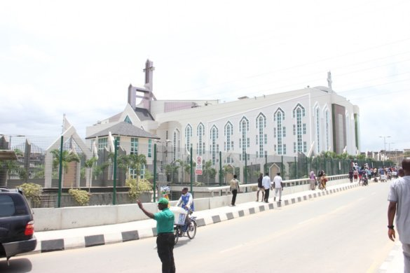 Unveiling the new auditorium of Deeper Life Bible Church in Lagos