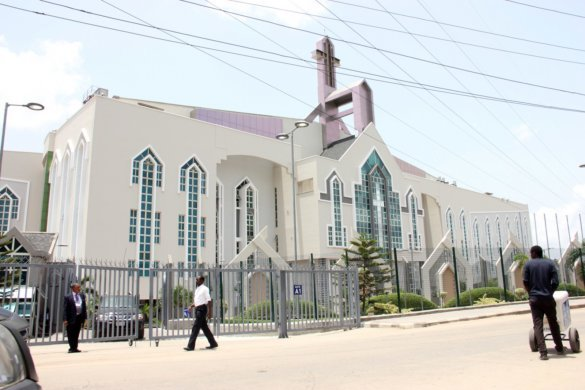 Unveiling the new auditorium of Deeper Life Bible Church in Lagos 9