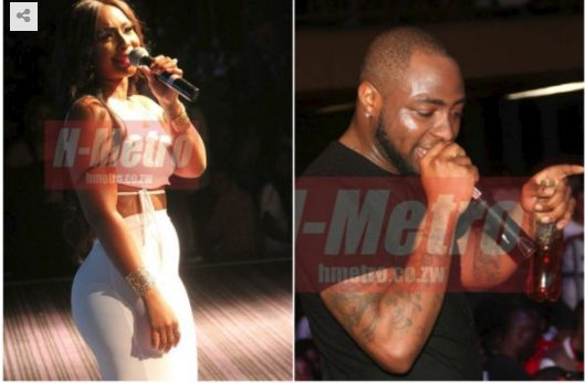 How 'Sex allegedly caused fight between Davido, South African female presenter