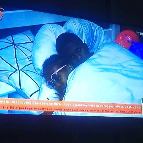 #BBNaija Lolu and Anto Kiss Passionately on Bed [Videos]
